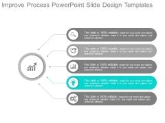 Improve Process Powerpoint Slide Design Templates