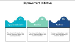 Improvement Initiative Ppt PowerPoint Presentation Layouts Templates Cpb