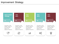 Improvement Strategy Ppt PowerPoint Presentation Outline Inspiration Cpb