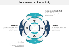 Improvements Productivity Ppt PowerPoint Presentation Slides Introduction