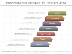 Improving Business Techniques Ppt Powerpoint Layout