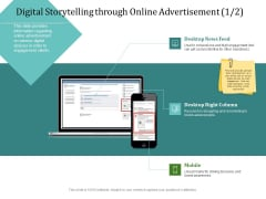 Improving Client Experience Digital Storytelling Through Online Advertisement Feed Information PDF