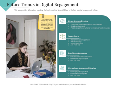 Improving Client Experience Future Trends In Digital Engagement Graphics PDF