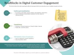 Improving Client Experience Roadblocks In Digital Customer Engagement Formats PDF