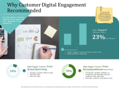 Improving Client Experience Why Customer Digital Engagement Recommended Demonstration PDF