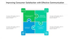 Improving Consumer Satisfaction With Effective Communication Ppt PowerPoint Presentation Gallery Show PDF