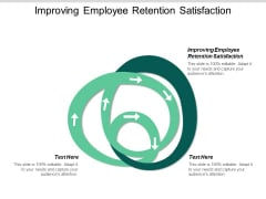 Improving Employee Retention Satisfaction Ppt PowerPoint Presentation Infographics Images Cpb