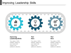 Improving Leadership Skills Ppt Powerpoint Presentation Infographic Template Background Cpb