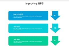 Improving NPS Ppt PowerPoint Presentation Icon Information Cpb
