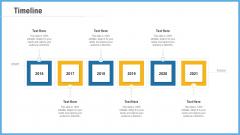Improving Operational Activities Enterprise Timeline Background PDF