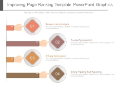 Improving Page Ranking Template Powerpoint Graphics