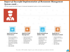 Improving Restaurant Operations Impact Of Successful Implementation Of Restaurant Management System Contd Formats PDF