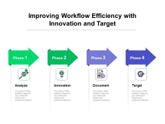 Improving Workflow Efficiency With Innovation And Target Ppt PowerPoint Presentation Ideas Example Topics PDF