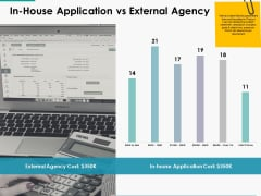 In House Application Vs External Agency Ppt Powerpoint Presentation Portfolio Infographic Template