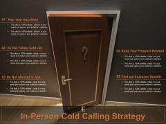 In Person Cold Calling Strategy Ppt PowerPoint Presentation Show Introduction PDF