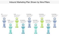 Inbound Marketing Plan Shown By Nine Pillars Ppt PowerPoint Presentation Show Graphics PDF
