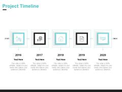 Inbound Marketing Proposal Project Timeline Structure PDF