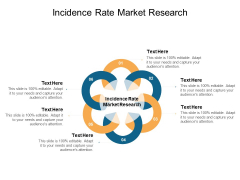 Incidence Rate Market Research Ppt PowerPoint Presentation Model Ideas Cpb