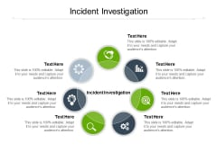 Incident Investigation Ppt PowerPoint Presentation Slides Cpb