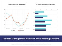 Incident Management Analytics And Reporting Solutions Ppt PowerPoint Presentation Layouts Portrait PDF