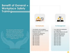 Incident Management Process Safety Benefit Of General Workplace Safety Training Guidelines PDF