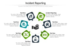Incident Reporting Ppt PowerPoint Presentation Pictures Cpb Pdf