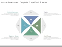 Income Assessment Template Powerpoint Themes