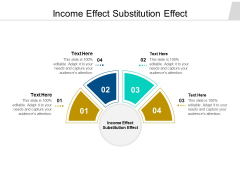 Income Effect Substitution Effect Ppt PowerPoint Presentation Layouts Graphics Download Cpb Pdf