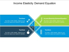 Income Elasticity Demand Equation Ppt PowerPoint Presentation Styles Shapes Cpb