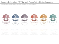 Income Estimation Ppt Layout Powerpoint Slides Inspiration
