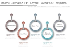 Income Estimation Ppt Layout Powerpoint Templates