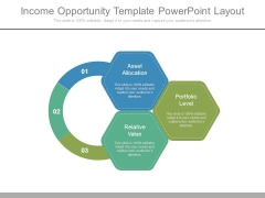 Income Opportunity Template Powerpoint Layout