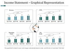 Income Statement Graphical Representation Ppt PowerPoint Presentation Layouts Designs Download