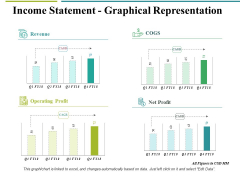 Income Statement Graphical Representation Ppt PowerPoint Presentation Pictures Design Templates