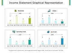 Income Statement Graphical Representation Ppt PowerPoint Presentation Summary Inspiration