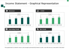 Income Statement Graphical Representation Ppt PowerPoint Presentation Visual Aids Layouts