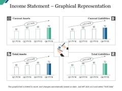 Income Statement Graphical Representation Template Ppt PowerPoint Presentation Model Infographic Template