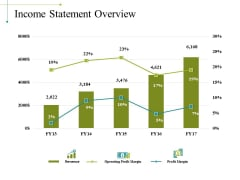 Income Statement Overview Ppt PowerPoint Presentation File Objects