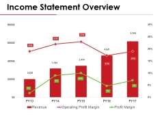 Income Statement Overview Ppt PowerPoint Presentation Gallery Template
