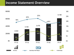 Income Statement Overview Ppt PowerPoint Presentation Professional Portfolio