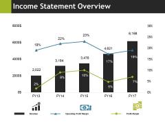 Income Statement Overview Ppt PowerPoint Presentation Professional Portfolio