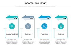 Income Tax Chart Ppt PowerPoint Presentation Slides Design Ideas Cpb Pdf