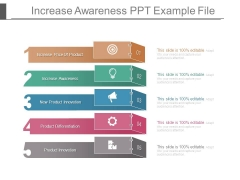 Increase Awareness Ppt Example File
