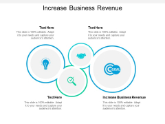 Increase Business Revenue Ppt PowerPoint Presentation Infographics Picture Cpb