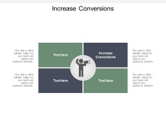 Increase Conversions Ppt PowerPoint Presentation Slides Smartart Cpb