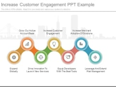 Increase Customer Engagement Ppt Example