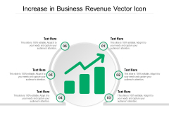 Increase In Business Revenue Vector Icon Ppt PowerPoint Presentation Gallery Information PDF