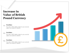 Increase In Value Of British Pound Currency Ppt PowerPoint Presentation Styles Background Image PDF
