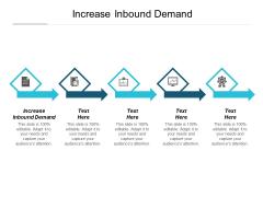 Increase Inbound Demand Ppt PowerPoint Presentation Inspiration Deck Cpb