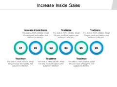 Increase Inside Sales Ppt PowerPoint Presentation Summary Background Images Cpb